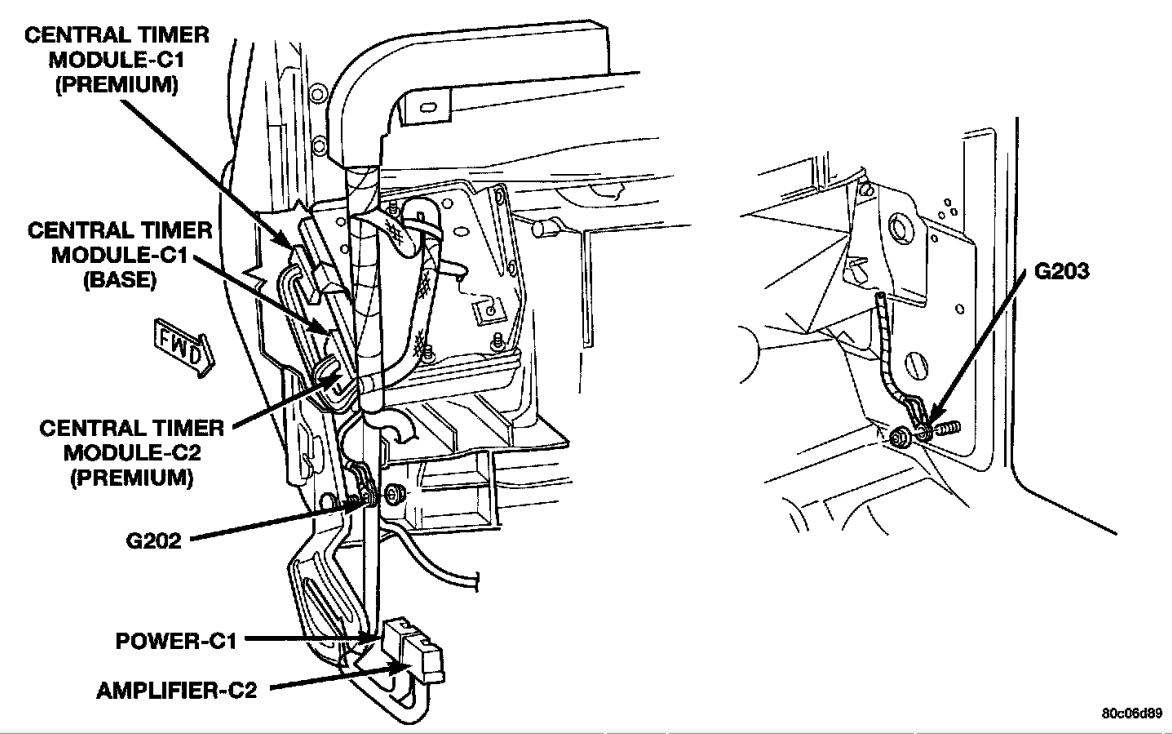 2003 Dodge Dakota Wiring Harness - Wiring Diagram Detailed - Trailer Light Wiring Diagram