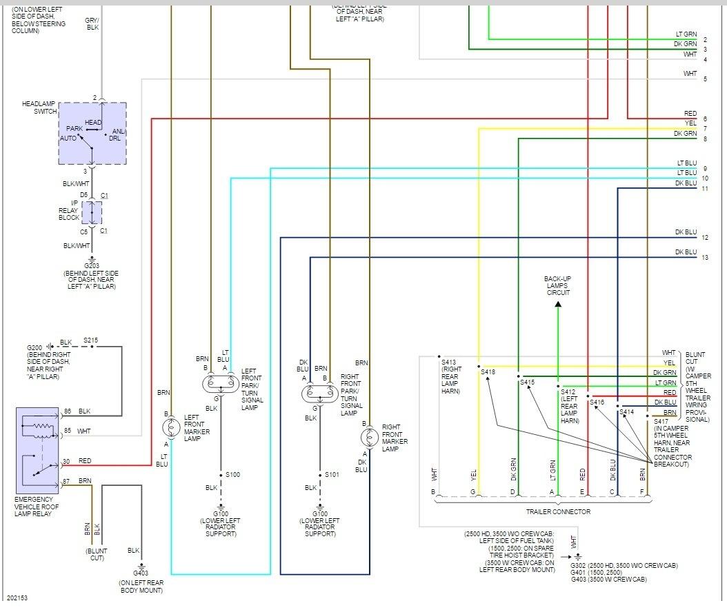 2005 Chevrolet Silverado 3500 Wiring Diagram | Best Wiring Library - 2005 Chevy Silverado Tail Light Wiring Diagram