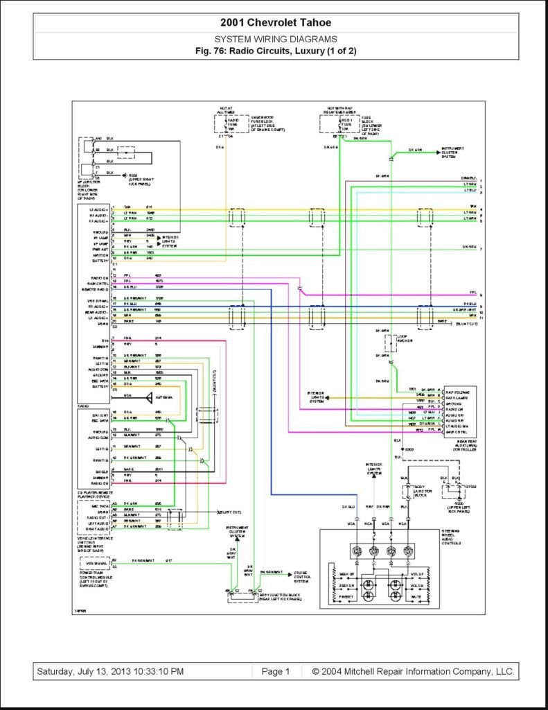 2005 Chevy Trailblazer Stereo Wiring Diagram 2001 Impala Radio And - 2005 Chevy Trailblazer Stereo Wiring Diagram
