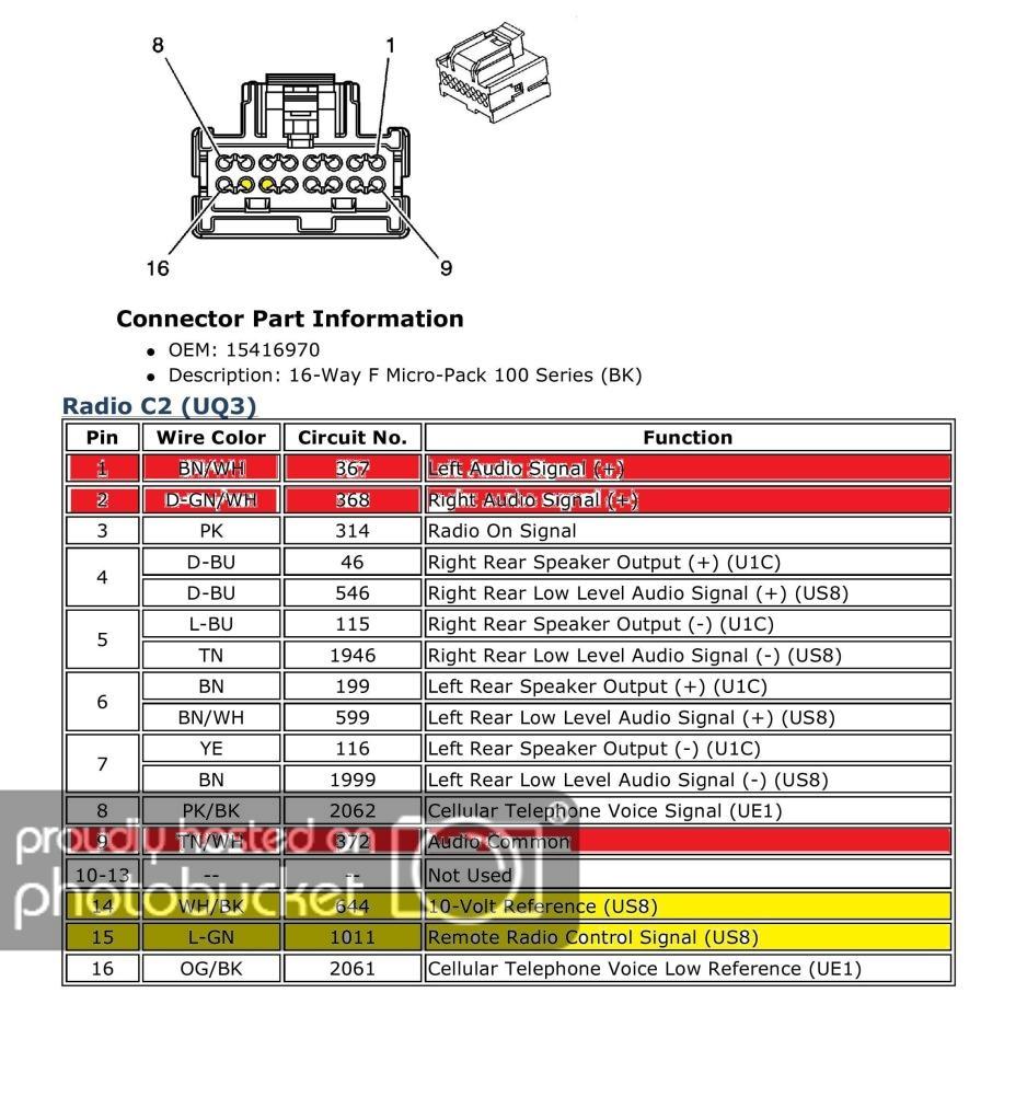 2010 Silverado Stereo Wiring Diagram | Manual E-Books - 2007 Chevy Silverado Radio Wiring Harness Diagram