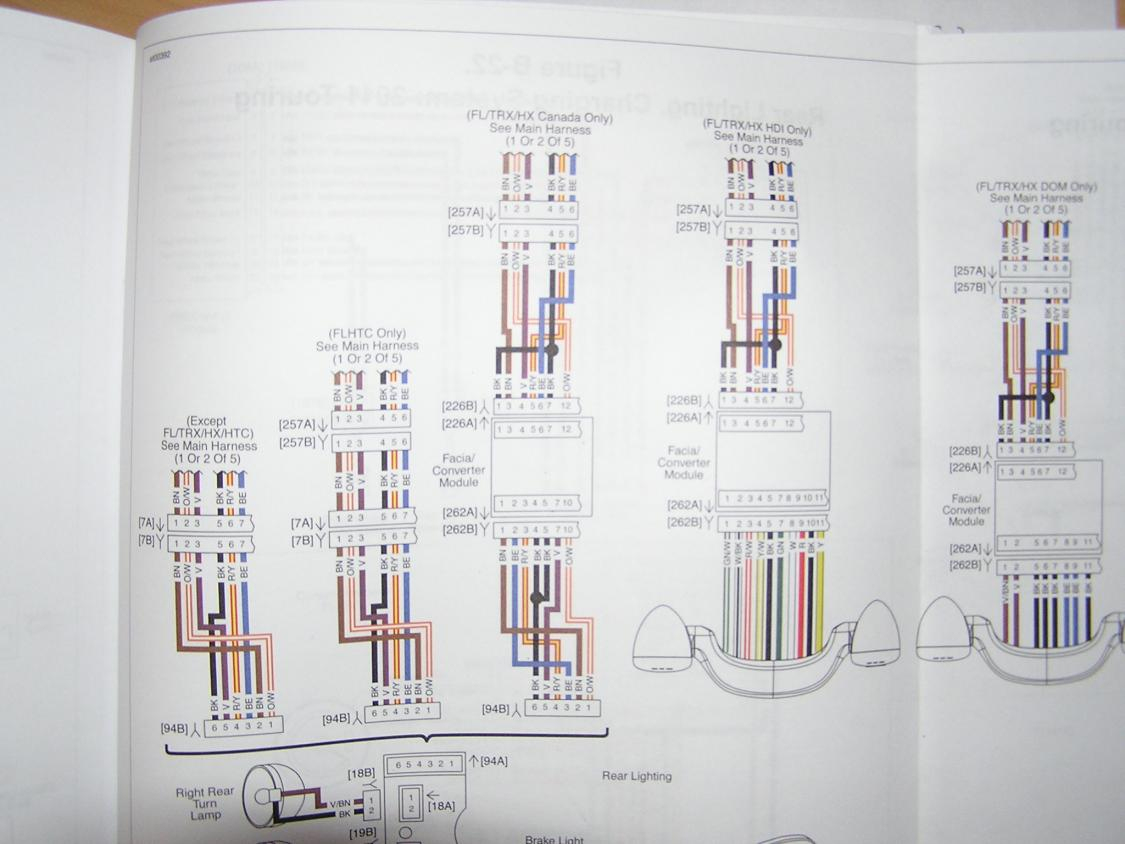 2010 To 2013 Flhx Wiring Diagram - Harley Davidson Forums - Harley Davidson Wiring Diagram