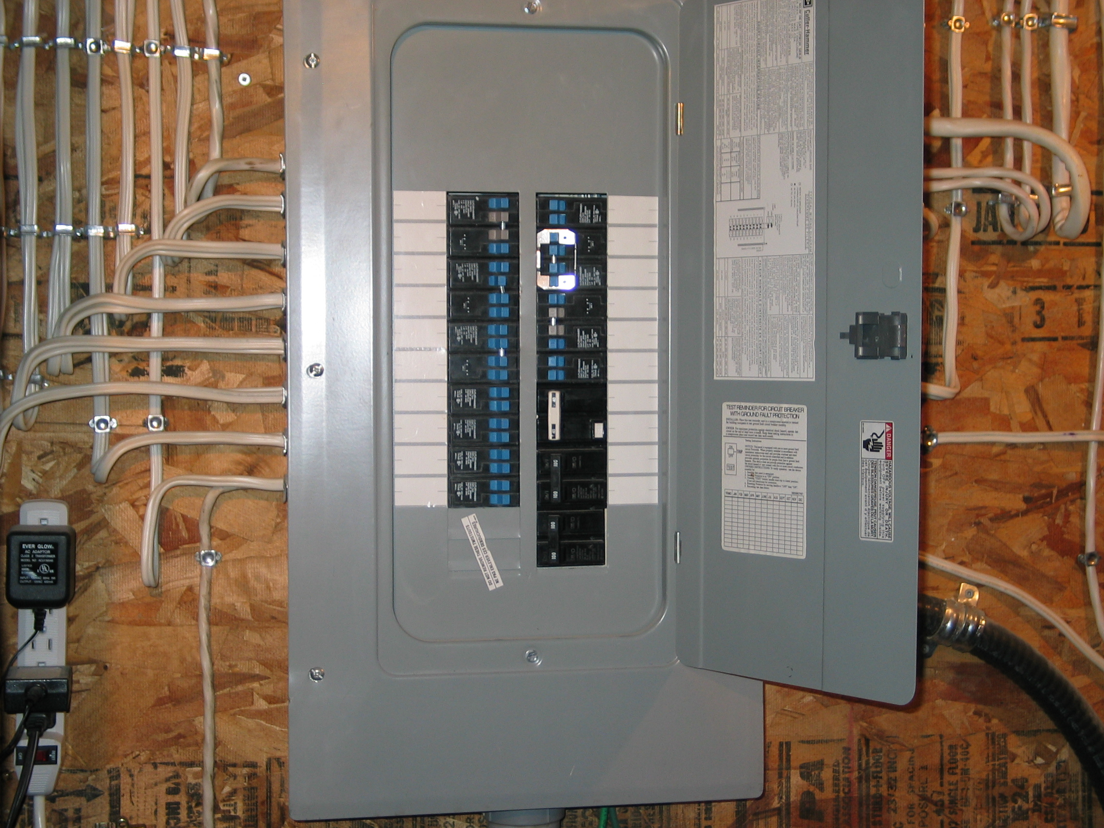 220-240 Wiring Diagram Instructions - Dannychesnut - Sub Panel Wiring Diagram