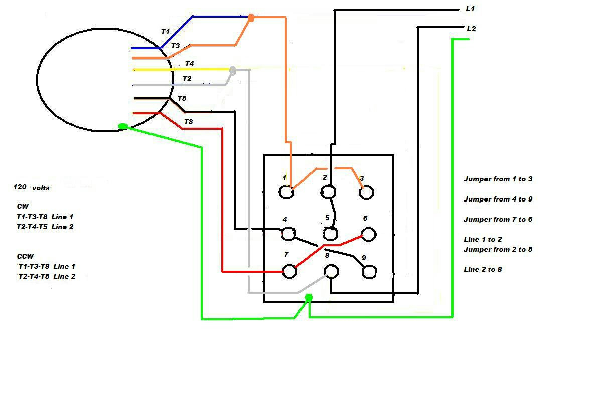 220 Volt Single Phase Motor Wiring Diagram - Wiring Diagrams Hubs - Electric Motor Wiring Diagram Single Phase