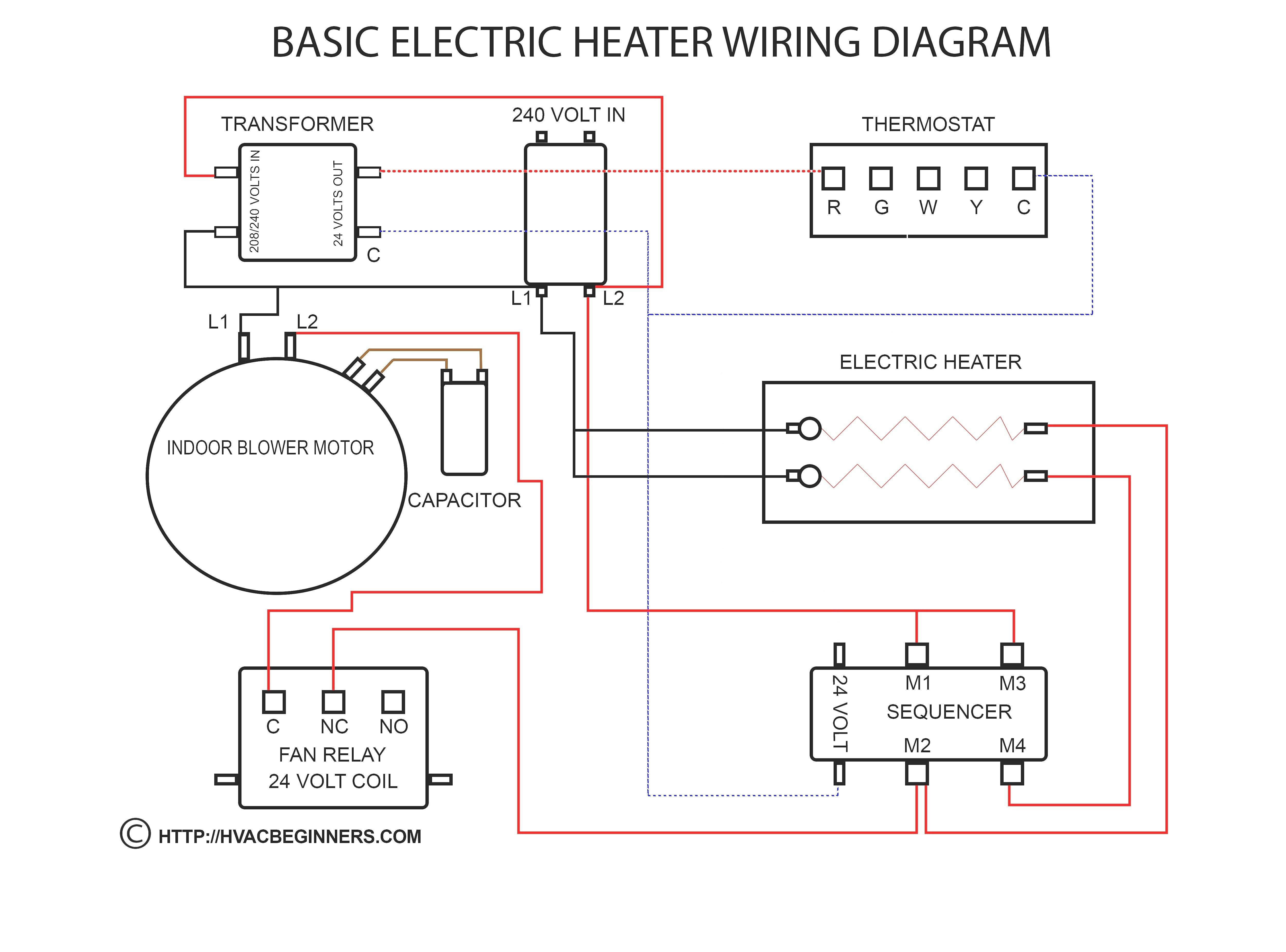 Ac Electric Motor Wiring Diagram