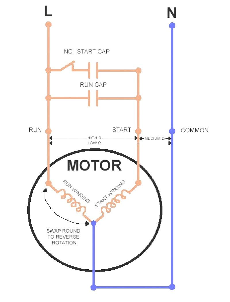 220V Single Phase Motor Winding Diagram   Wiring Diagram - 220V Single Phase Motor Wiring Diagram