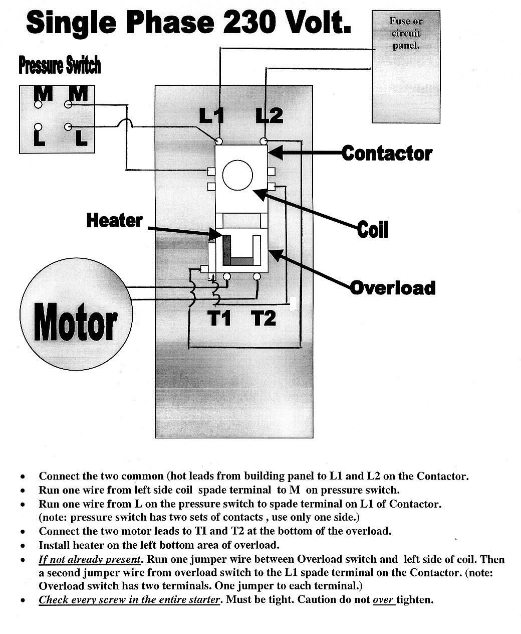 220V Single Phase Motor Wiring Diagram   Manual E-Books - 220V Single Phase Motor Wiring Diagram
