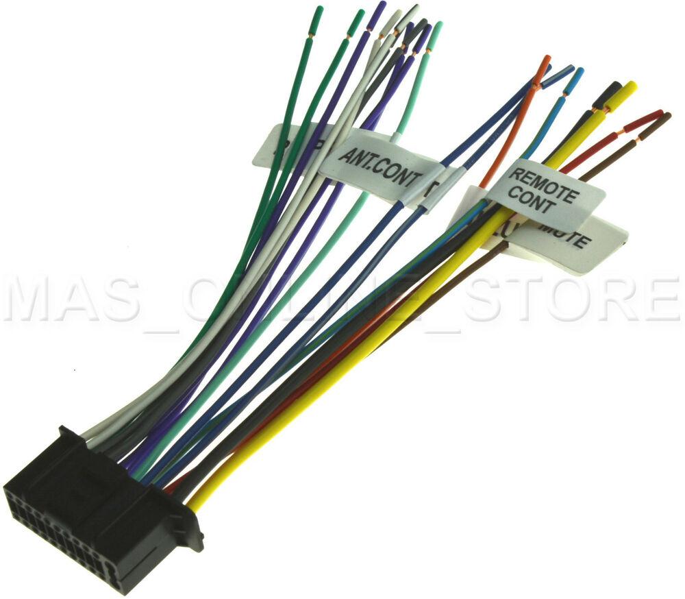 22Pin Wire Harness For Kenwood Ddx-6019 Kvt-512 Kvt-514 Kvt-516 - Kenwood Wiring Diagram