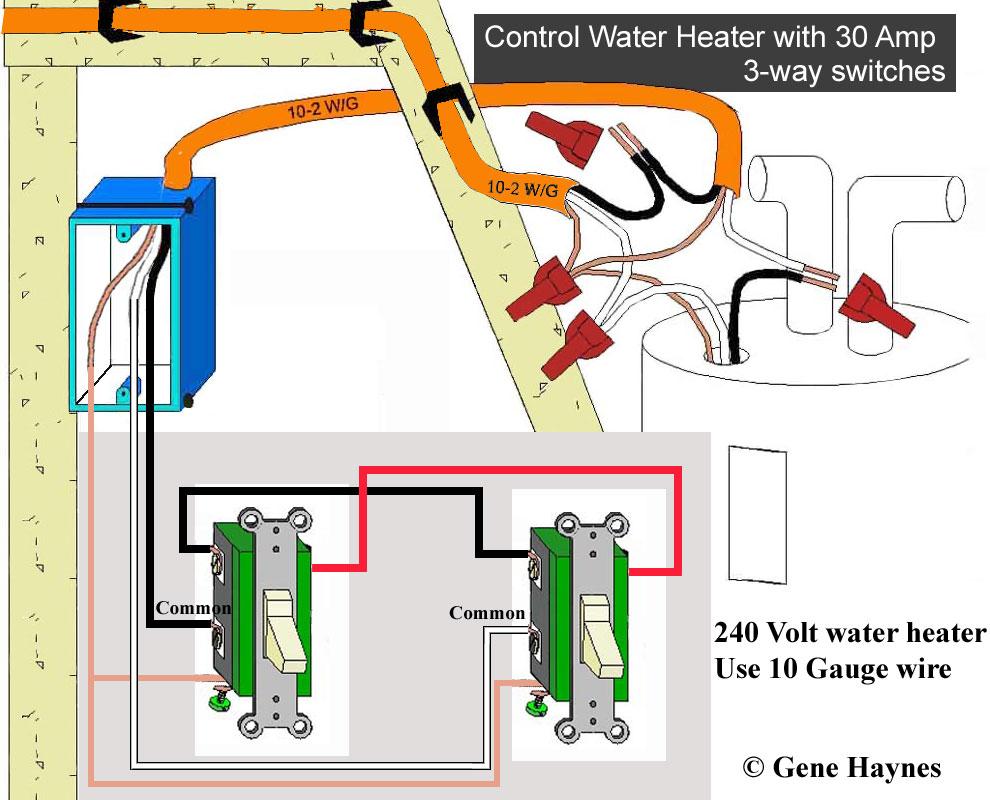 240 Volt Heater Wiring Diagram