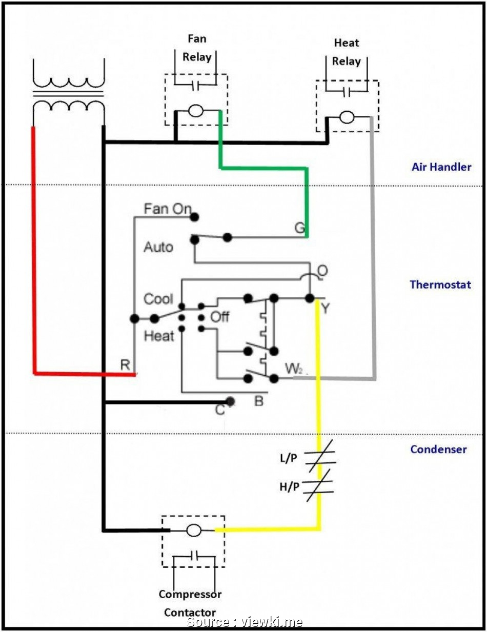 Double Pole Thermostat Wiring Diagram