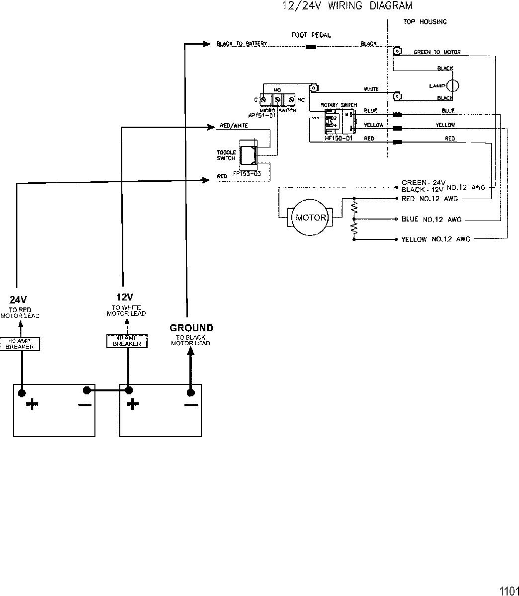 24V Trolling Motor Wiring Diagram | Wiring Diagram - Trolling Motor Wiring Diagram
