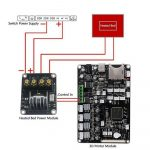 2Sets Fits Anet A8 Mosfet Board Upgrade 3D Printer Heated Bed Power   Anet A8 Power Switch Wiring Diagram