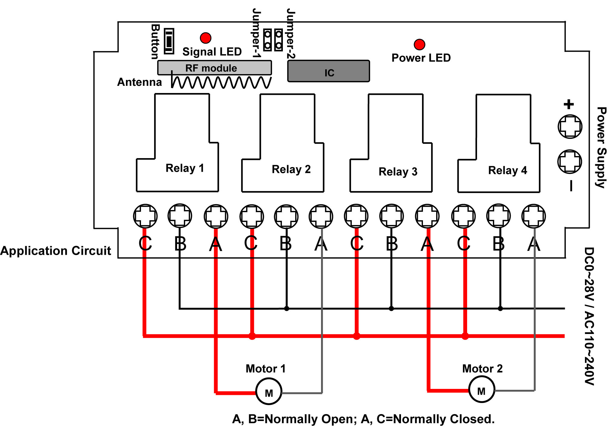 3 Button Garage Door Wiring Diagram For Control | Wiring Diagram - Garage Door Opener Wiring Diagram