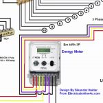 3 Phase Wiring Installation In House | 3 Phase Distribution Board   3 Phase To Single Phase Wiring Diagram