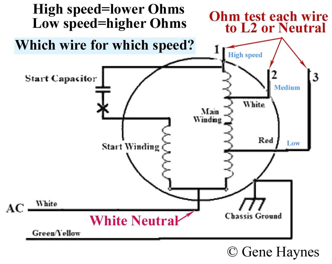 3 Speed Motor Wiring Diagram | Manual E-Books - 3 Speed Fan Motor Wiring Diagram