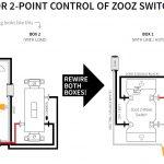 3 Way Diagrams For Zen21, Zen22, Zen23, And Zen24 Ver. 2.0 Switches   Wiring Diagram 3 Way Switch