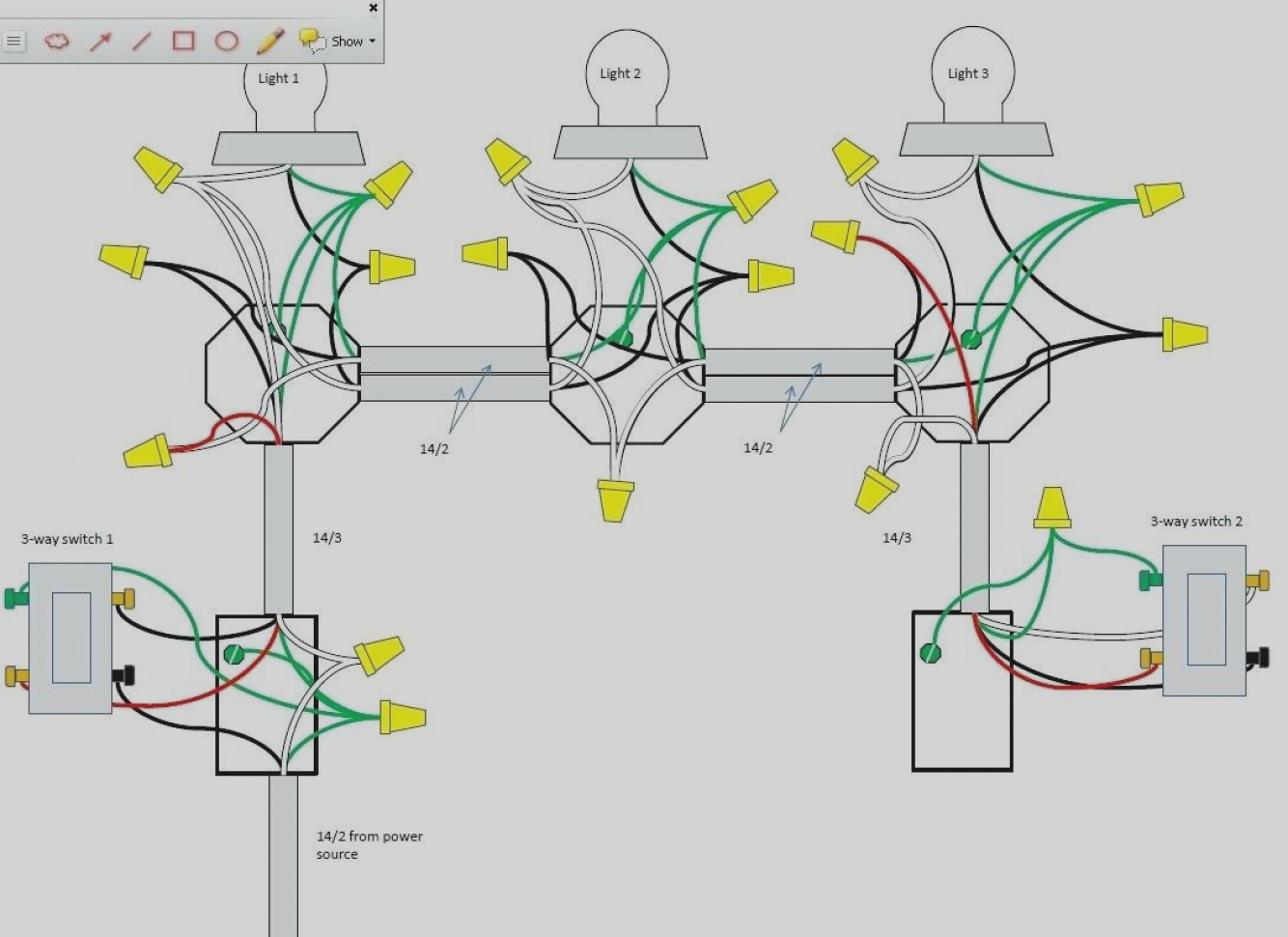 3 Way Switch Wiring Diagram Multiple Lights - Kuwaitigenius - 3 Way Switch Wiring Diagram Multiple Lights