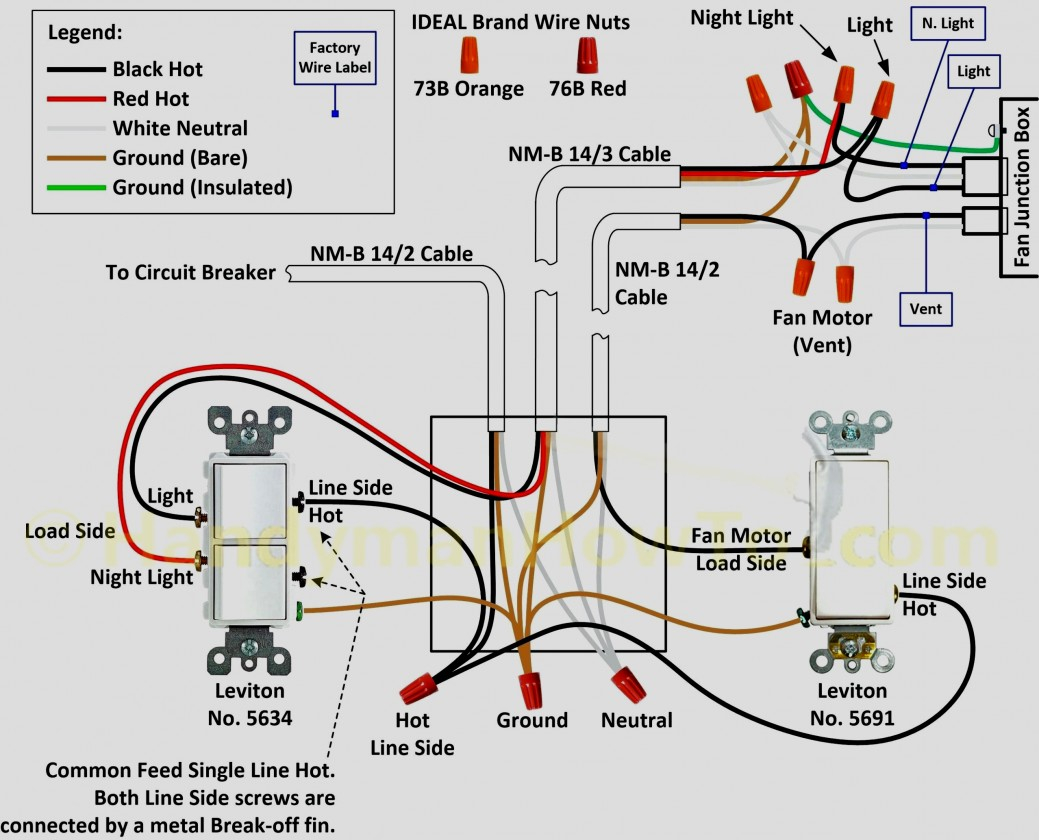 3 Way Switch Wiring Diagram Variations Ceiling Light - Wiring - Four Way Switch Wiring Diagram
