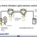 3 Way Switch Wiring Diagram With 2 Lights | Wiring Diagram   3 Way Switch Wiring Diagram Power At Light
