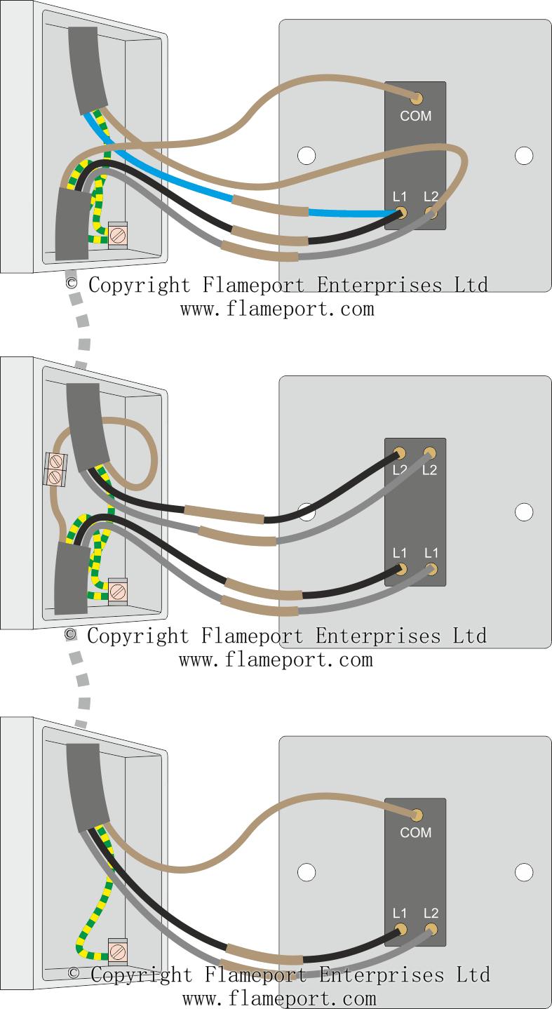 3 Way Switched Lighting Circuits - 3 Way Switching Wiring Diagram