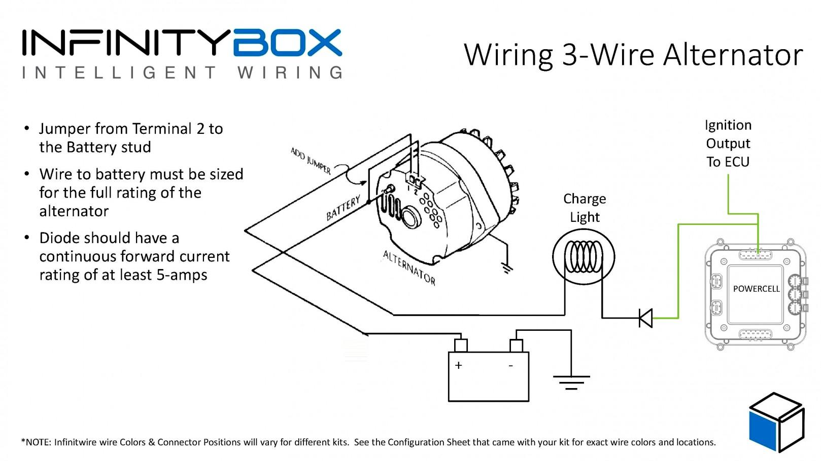 3 Wire Alternator Diagram - Wiring Diagram Data Oreo - 2 Wire Alternator Wiring Diagram