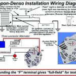 3 Wire Alternator Schematic   Manual E Books   One Wire Alternator Wiring Diagram Ford