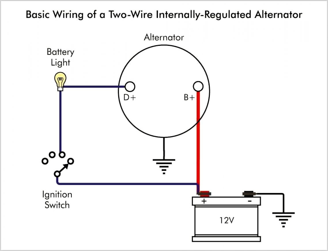 3 Wire Delco Alternator Wiring - Data Wiring Diagram Schematic - Gm 3 Wire Alternator Wiring Diagram