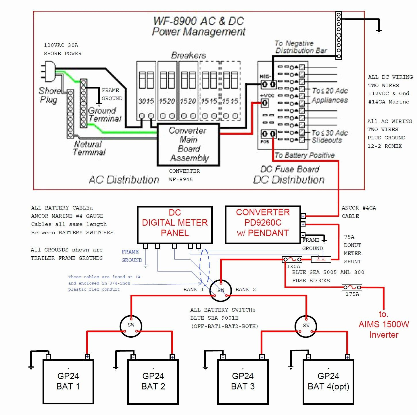 30 Amp Rv Plug Wiring Diagram Inspirational Wiring Diagram For Rv - 30 Amp Plug Wiring Diagram