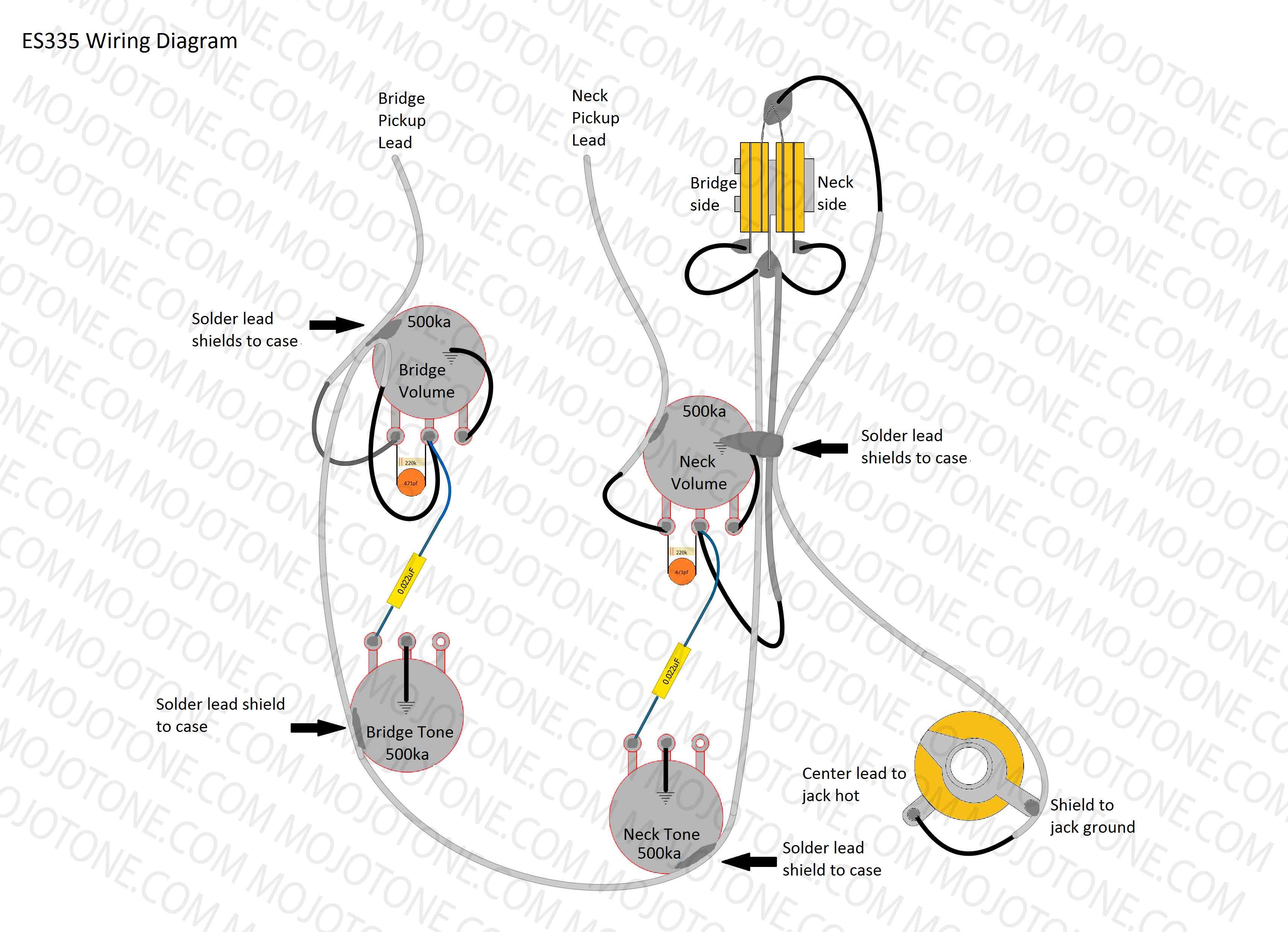 335 Three Way Wiring Diagram - Es 335 Wiring Diagram