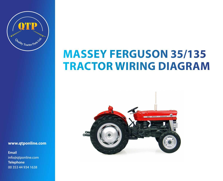 35/135 Wiring Diagramquality Tractor Parts - Issuu - Massey Ferguson Wiring Diagram