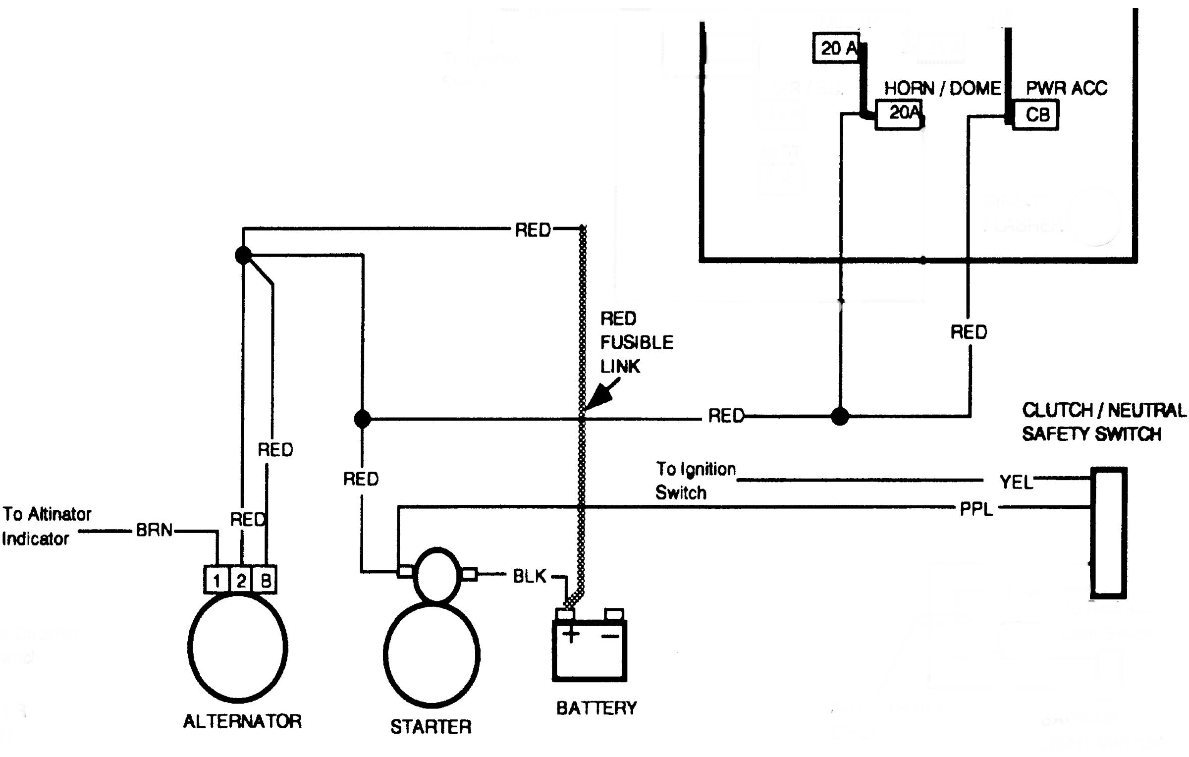 350 Alternator Wiring Diagram | Wiring Diagram - Alternator Wiring Diagram Chevy 350
