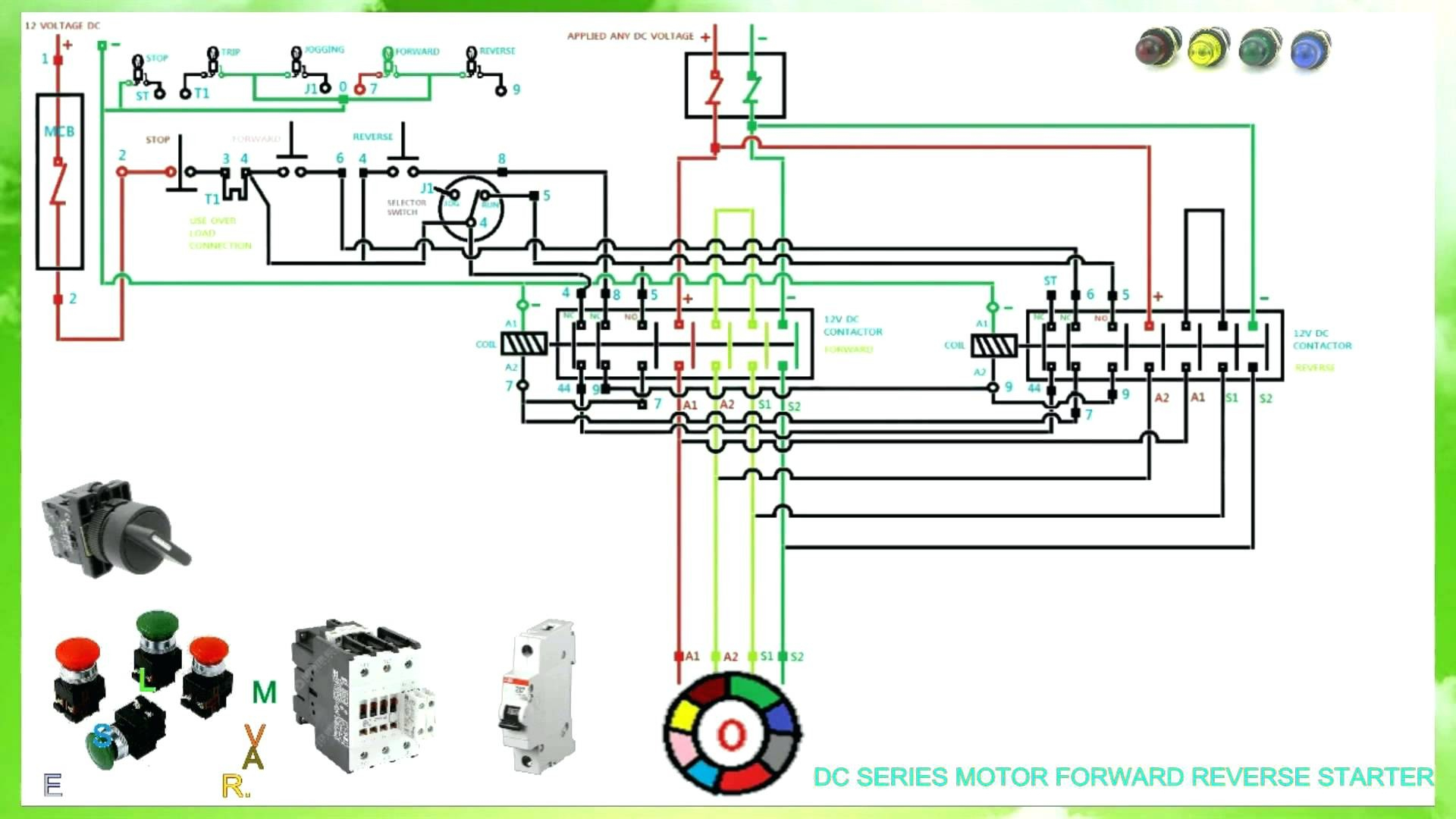 3Ph Motor Forward And Reverse Control Wiring Schematics | Wiring Diagram - Single Phase Motor Wiring Diagram Forward Reverse