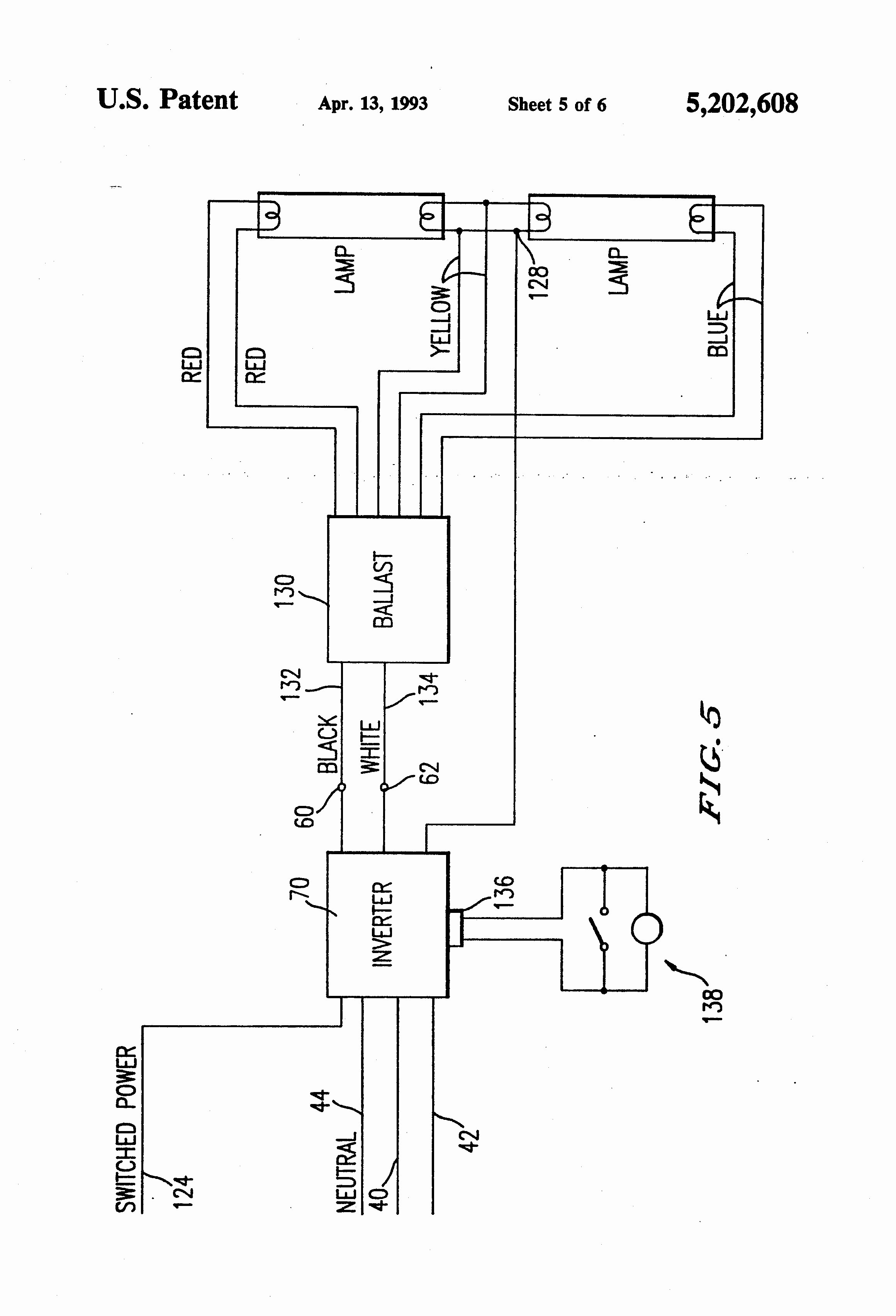 4 Foot Light Fixture Ballast Wiring Diagram | Wiring Diagram - 4 Lamp 2 Ballast Wiring Diagram