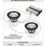4 Ohm Dvc Wiring Diagram   Wiring Diagram Data Oreo   Subwoofer Wiring Diagram Dual 4 Ohm