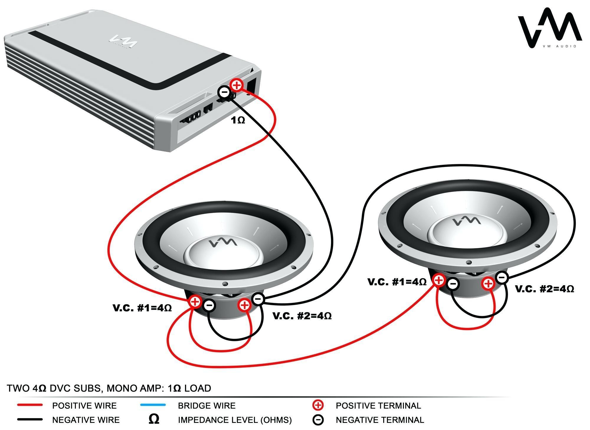4 Ohm Subwoofer Wiring Diagram Mono Svc