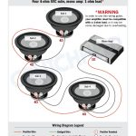 4 Ohm Wiring Diagram   Data Wiring Diagram Schematic   Dual Voice Coil Wiring Diagram