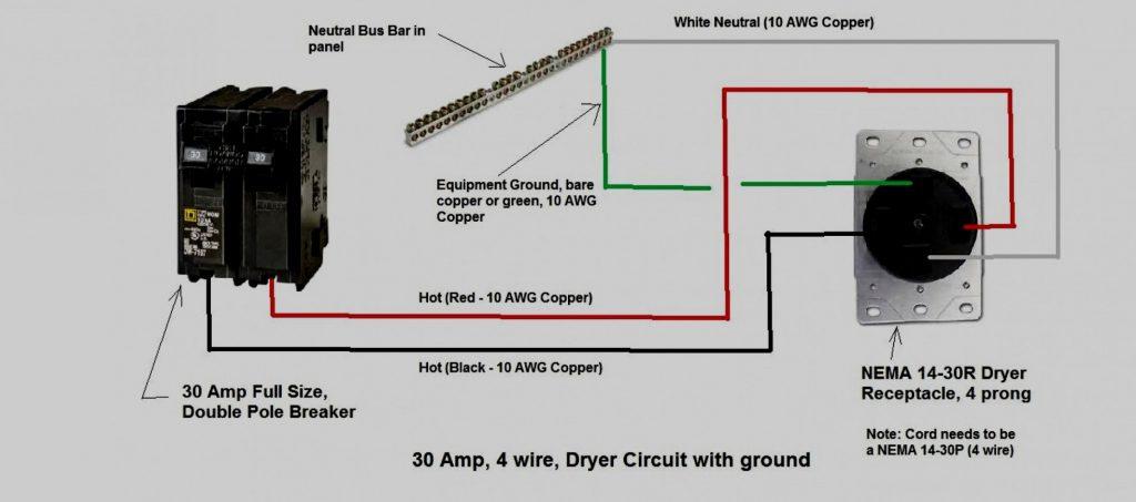 4 Prong 250vac Wiring Diagram