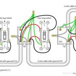 4 Way Switch With Power Feed Via The Light Switch   How To Wire A   4 Way Light Switch Wiring Diagram