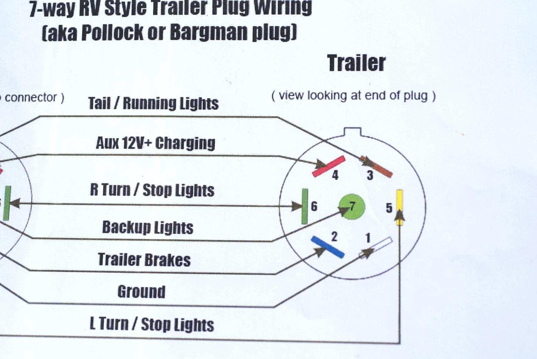 4 Way Trailer Wiring Diagram Ford | Wiring Diagram - 4 Prong Trailer Wiring Diagram
