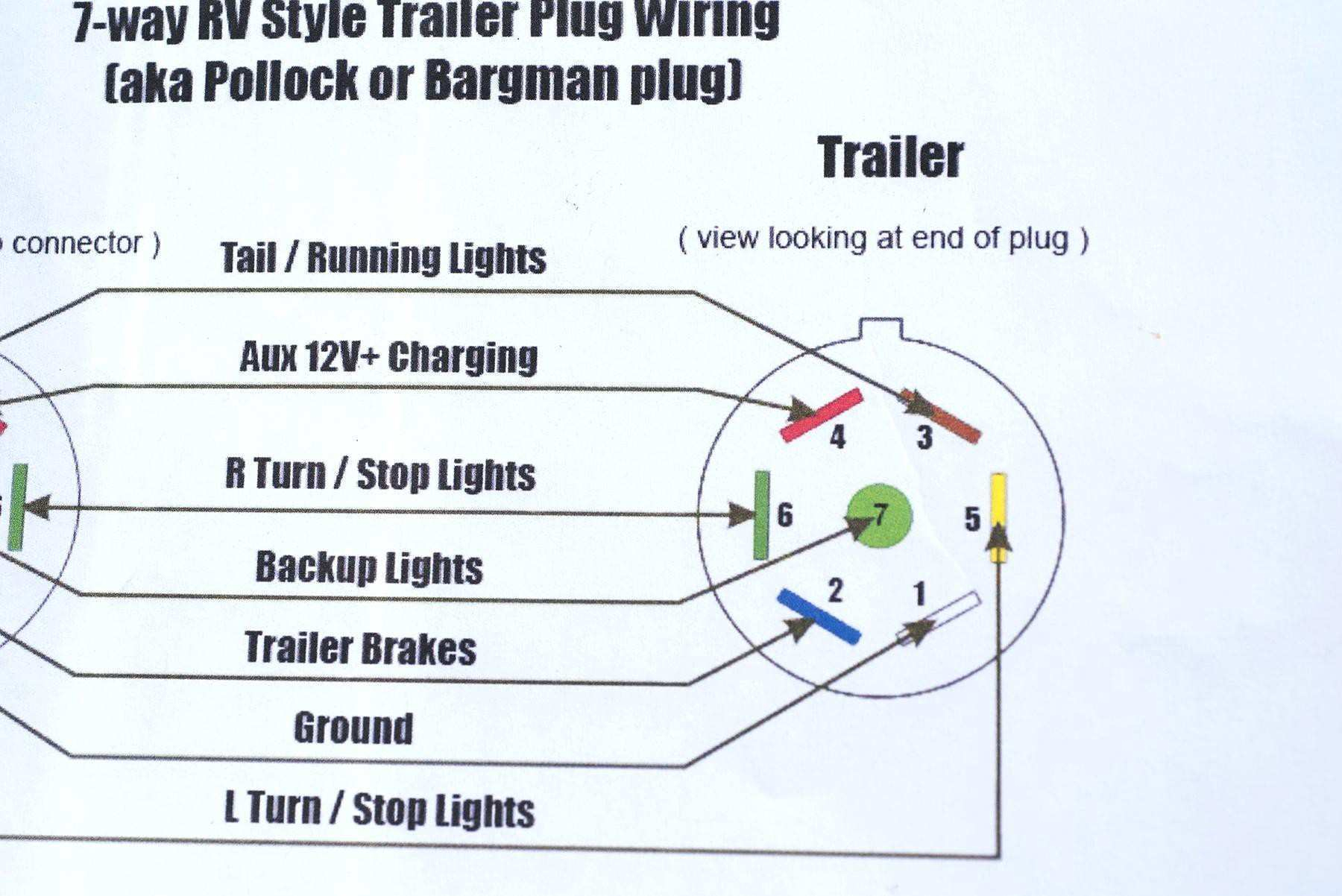 4 Way Trailer Wiring Diagram Ford | Wiring Diagram - Ford Trailer Wiring Diagram 7 Way