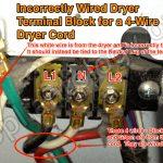 4 Wire Dryer Wiring   Data Wiring Diagram Schematic   4 Prong Dryer Outlet Wiring Diagram