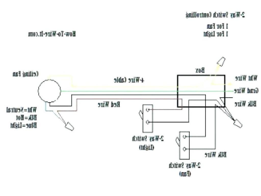 4 Wire Harbor Breeze 3 Speed Ceiling Fan Switch With Capacitor - Hunter Ceiling Fan Switch Wiring Diagram
