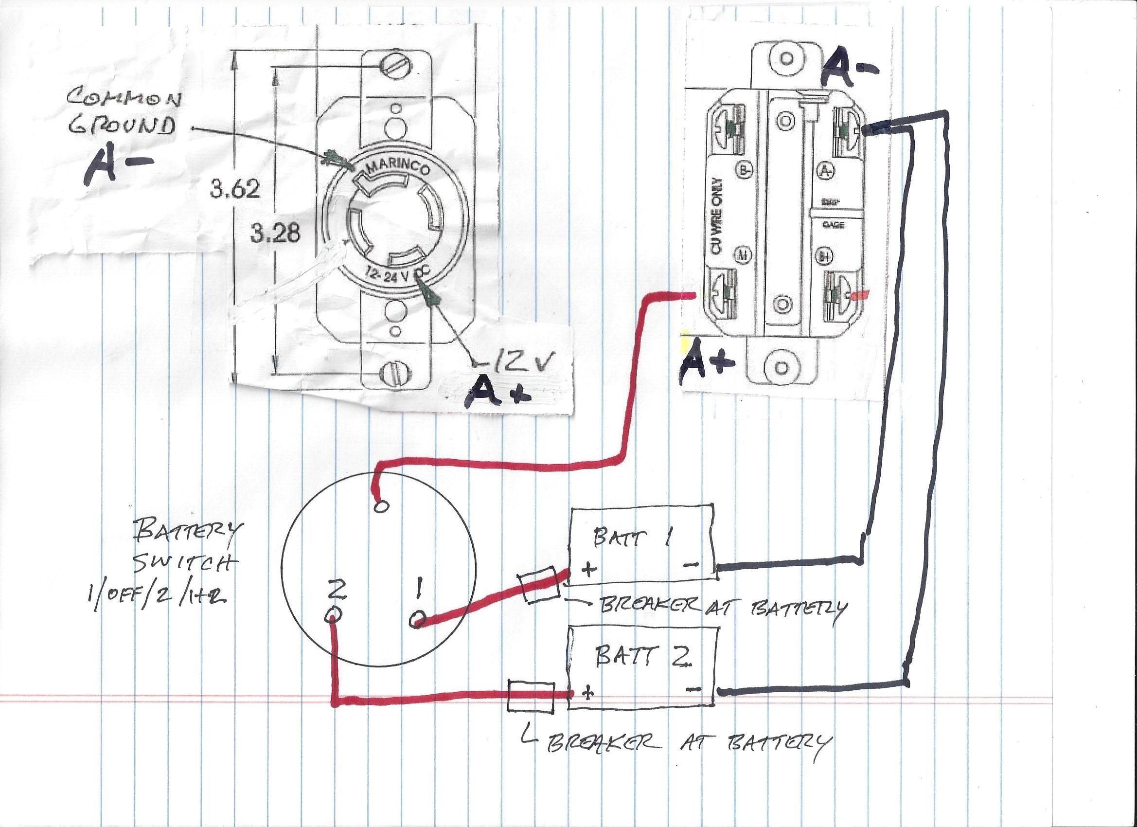 4 Wire Minn Kota Wiring Diagram | Wiring Diagram - Minn Kota Trolling Motor Plug And Receptacle Wiring Diagram