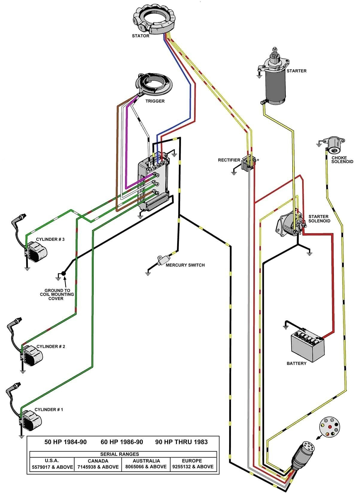 40 Hp Mercury Outboard Wiring Diagram Hecho   Wiring Diagram - Mercury Outboard Rectifier Wiring Diagram