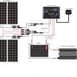 400 Watt 12 Volt Monocrystalline Solar Rv Kit | Renogy Solar   Rv Inverter Wiring Diagram