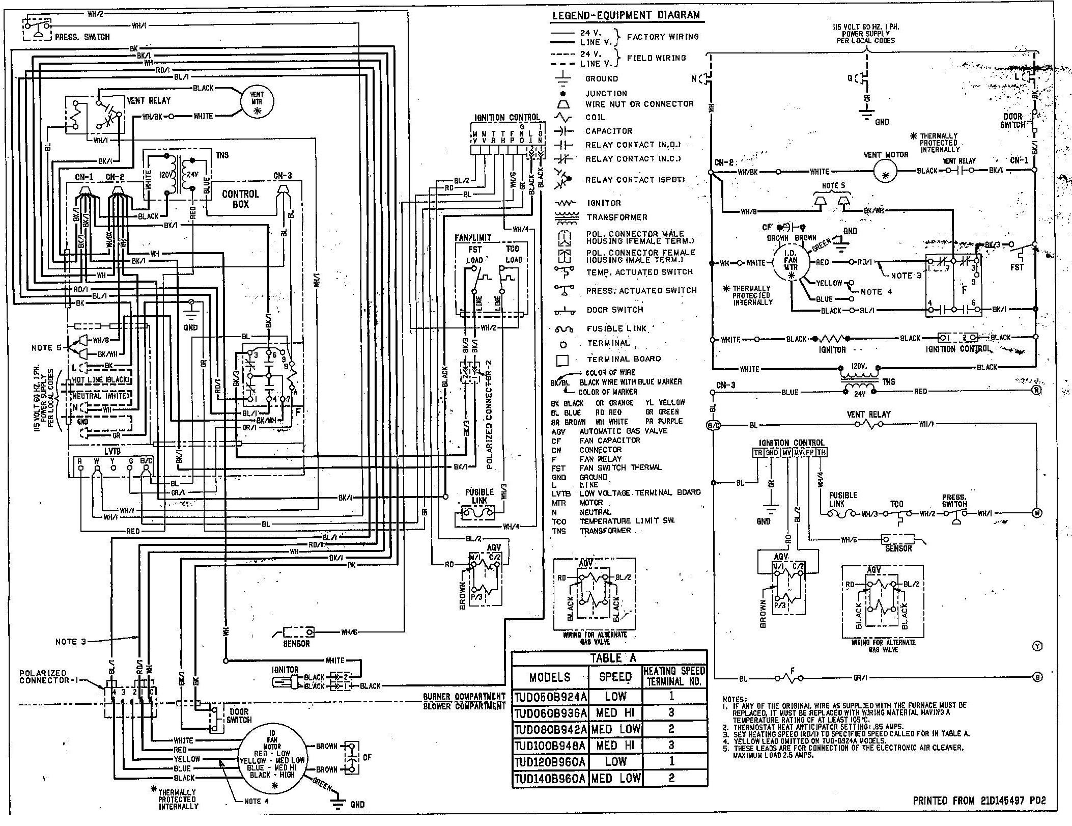 45 Electric Furnace Wiring Diagram, Dayton Gas Furnace Wiring - Goodman Electric Furnace Wiring Diagram