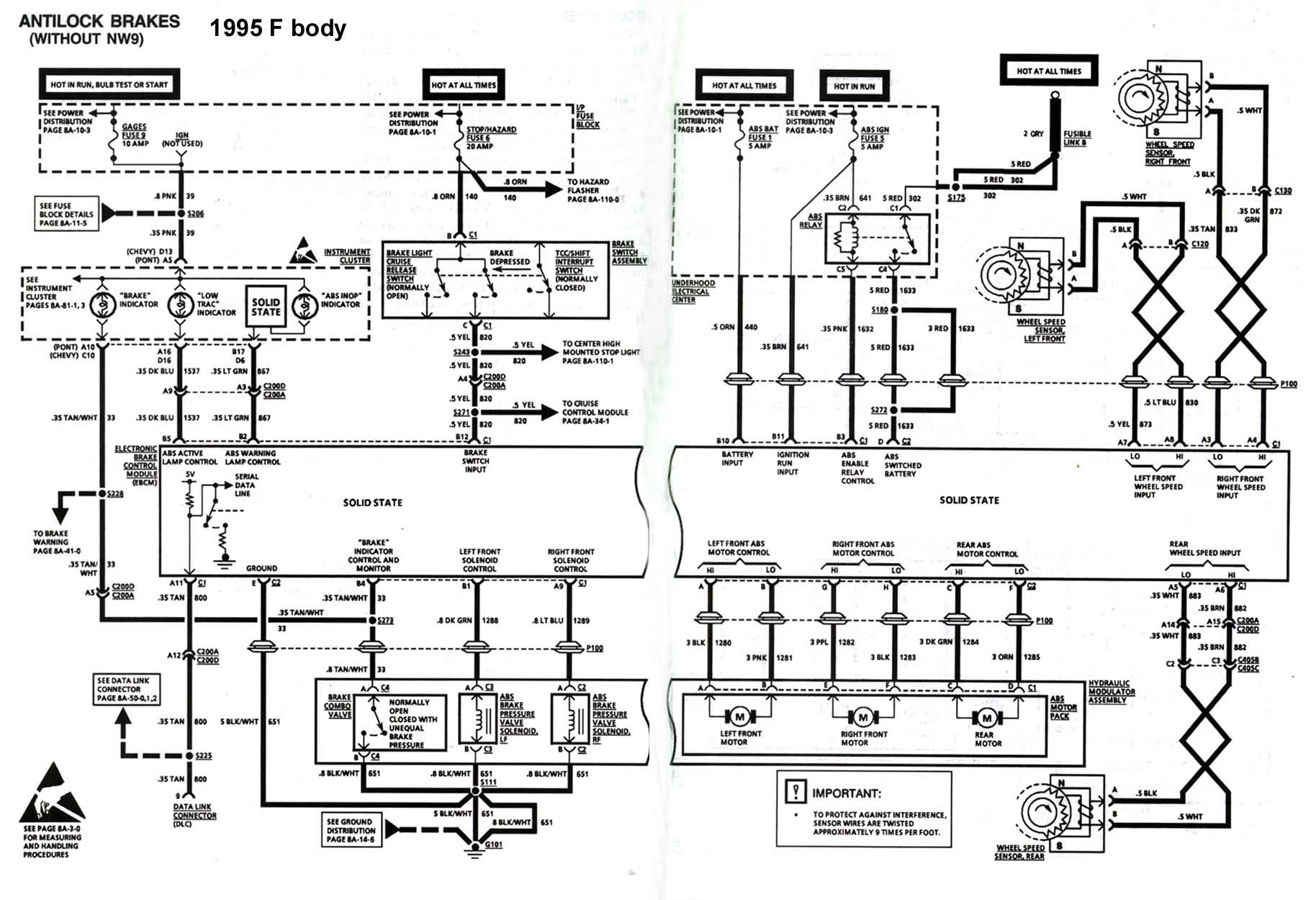 4Th Gen Lt1 F-Body Tech Aids - Two Way Switch Wiring Diagram