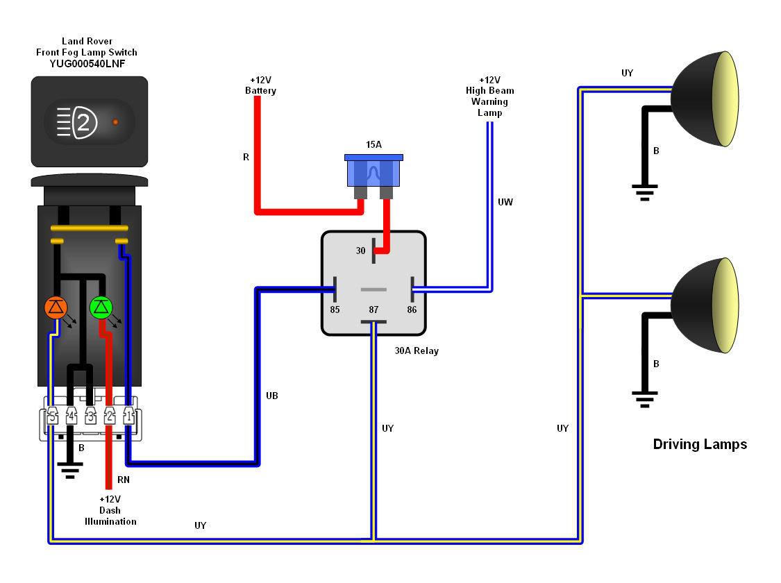5 Pin Wiring Diagram - Wiring Diagrams Hubs - 5 Pin Relay Wiring Diagram Driving Lights