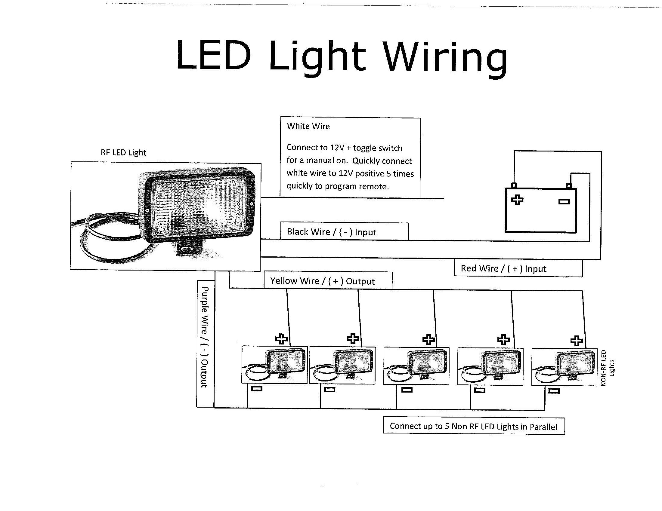 5 Wire Led Diagram | Wiring Diagram - Led Lighting Wiring Diagram