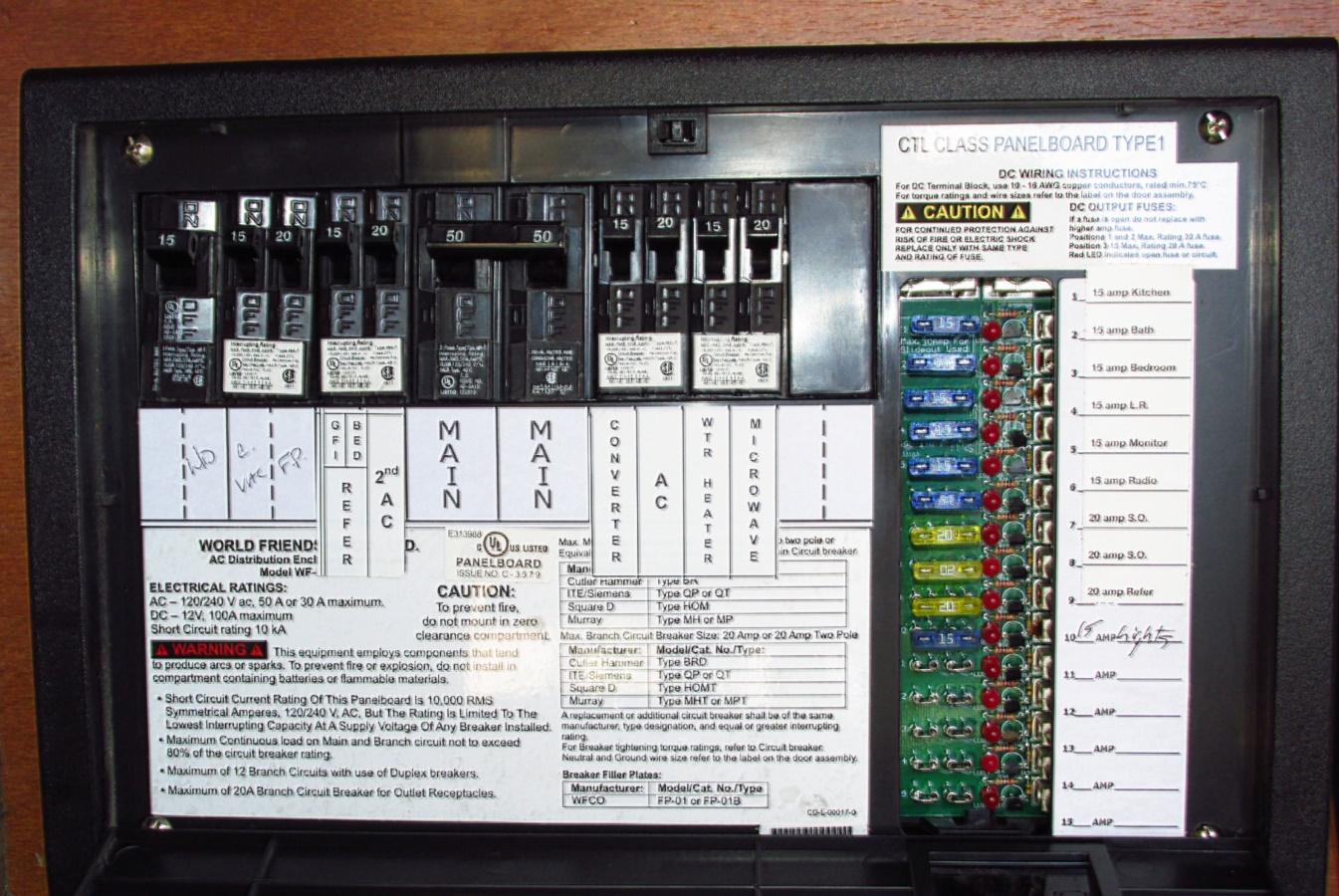 50 Amp Rv Wiring Schematic   Manual E-Books - 30 Amp Rv Plug Wiring Diagram