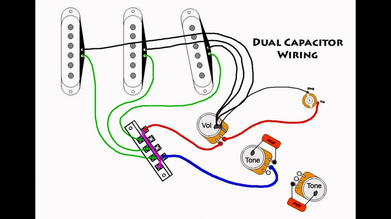 50S Stratocaster Pickup Wiring Diagram | Wiring Diagram - Fender Strat Wiring Diagram